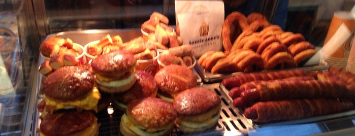 Annie's Pretzels (La Guardia Airport Terminal C) is one of Trip to New York City.