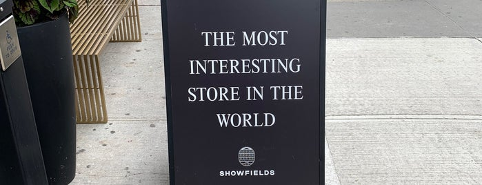 SHOWFIELDS is one of Soho.