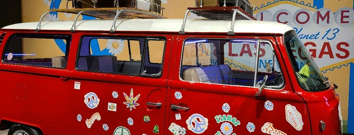 Planet 13 Marijuana Dispensary is one of Viva Las Vegas.