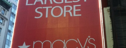 Macy's is one of Places to go when in New York.