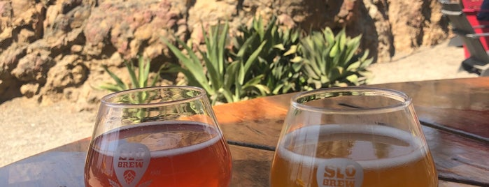 SLO Brew Rock is one of Yet to Visit.