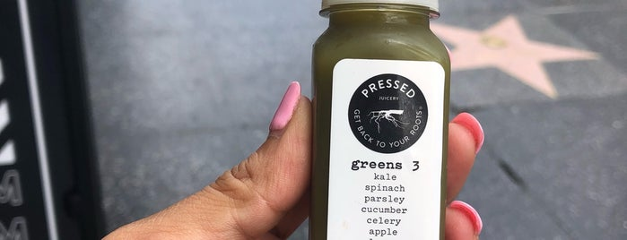 Pressed Juicery is one of Locais curtidos por Divya.