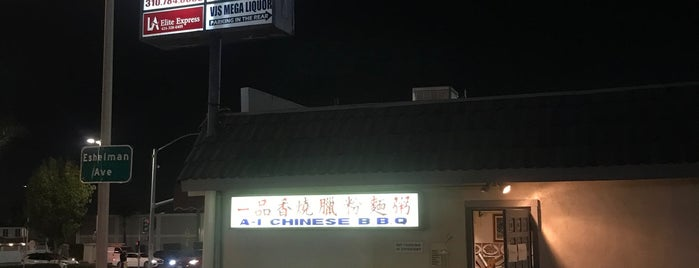 A1 BBQ is one of South Bay.