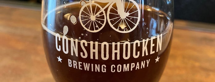 Conshohocken Brewing Co. Brewpub is one of Tylerさんのお気に入りスポット.