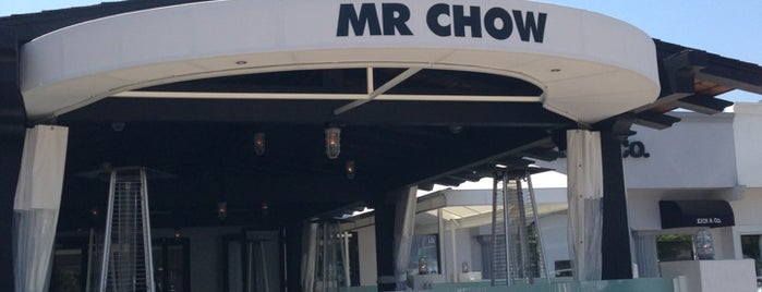 Mr Chow - Malibu is one of LA.