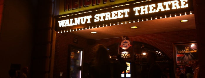Walnut Street Theatre is one of Places to go to in Philadelphia in 2011.