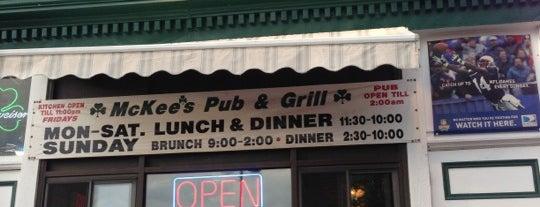 McKee's Pub & Grill is one of Burlington VT.