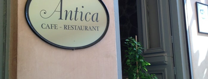 Antica is one of athens favourite.