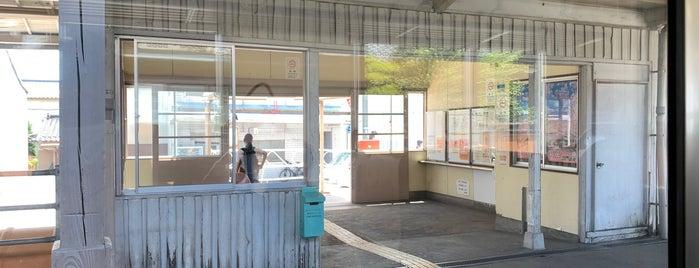 桜町駅 is one of JR 고신에쓰지방역 (JR 甲信越地方の駅).