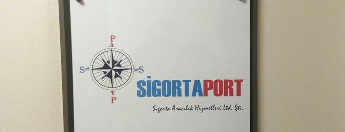 SİGORTAPORT SIGORTA ARAC. HİZ. LTD.ŞTİ is one of Erdinçさんのお気に入りスポット.