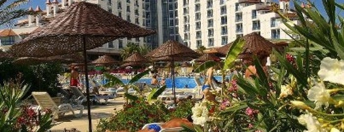 Green Max Hotel Belek is one of Sibel : понравившиеся места.