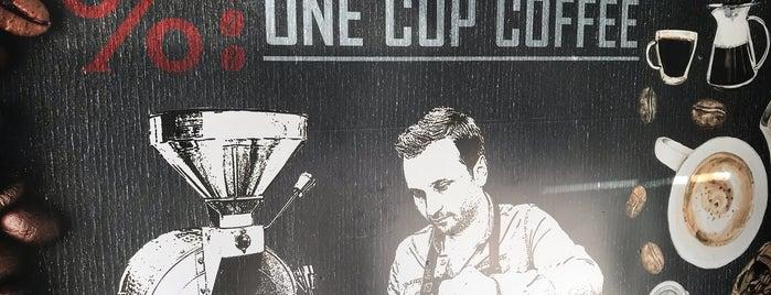 %100 One Cup Coffee is one of Locais curtidos por Emre.