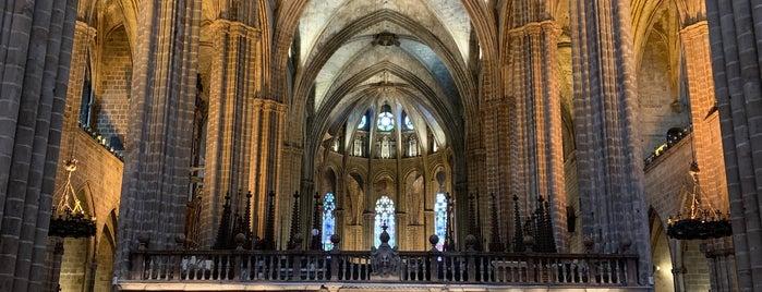 Catedral De Barcelona is one of barca 🇪🇸.