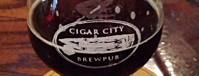 Cigar City Brewing is one of Tampa.