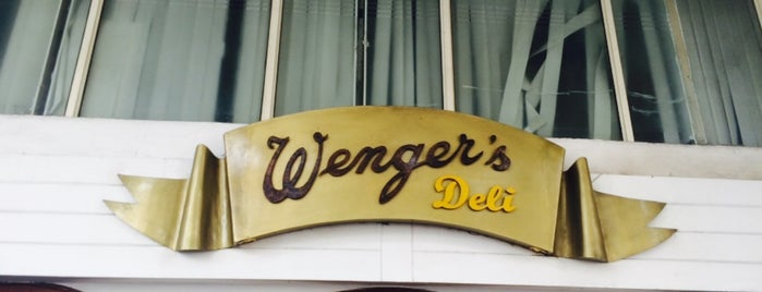 Wenger's Deli is one of The 15 Best Places for Pasta in New Delhi.