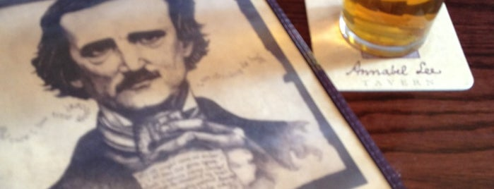 Annabel Lee Tavern is one of Baltimore Sun's 50 Best Bars (2013).