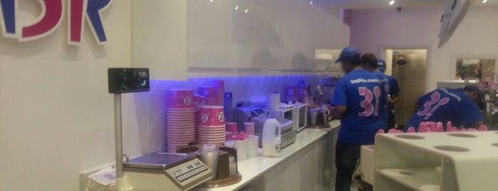 Baskin-Robbins is one of London.