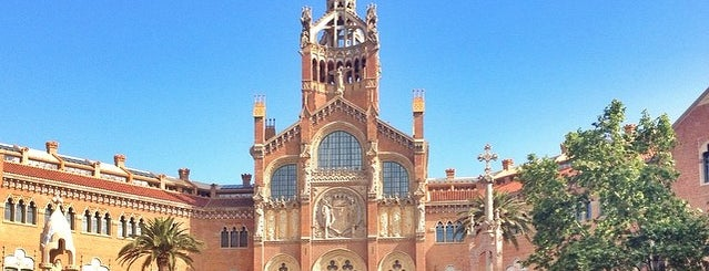 Recinto Modernista de Sant Pau is one of Architecture.