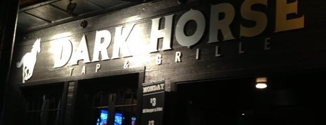 Dark Horse Tap & Grille is one of Visited Bars.