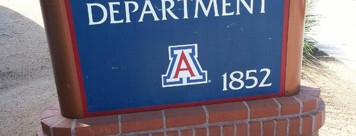 University Of Arizona Police Department is one of Tucson Arizona.