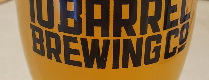 10barrel brewing is one of Denver Dining Out Passbook 2017-2018.