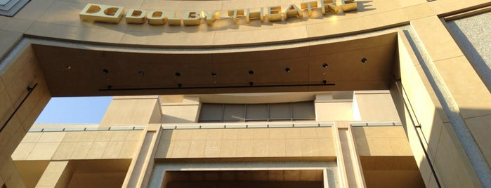 Dolby Theatre is one of Kalifornien.