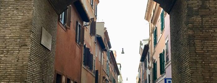 Porta Settimiana is one of Rome / Roma.
