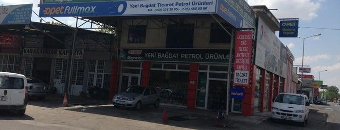 Yeni Bağdat Petrol Ürünleri is one of Locais curtidos por Nabi.