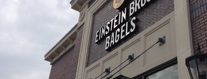 Einstein Bros Bagels is one of Lieux qui ont plu à Wednesday.