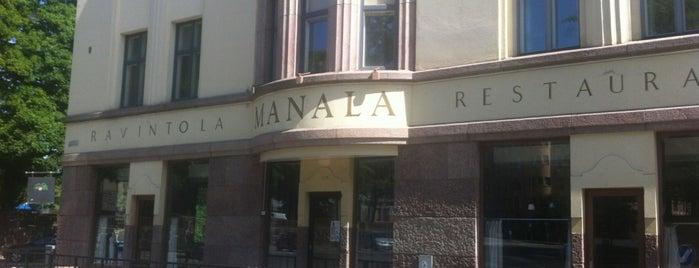 Manala is one of Helsinki.