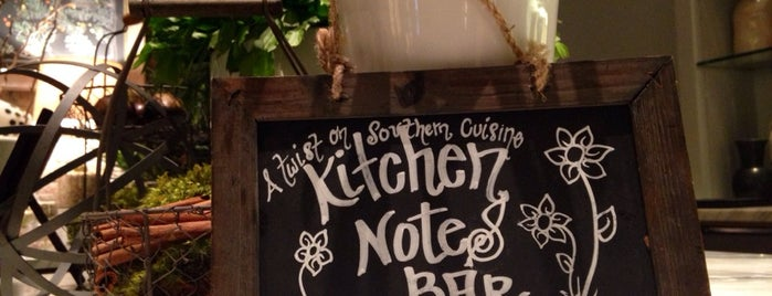 Kitchen Notes is one of Nashville Eats.