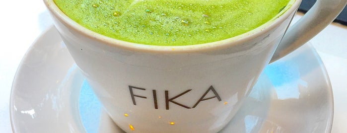 FIKA Espresso Bar is one of NYC ☕️🍰.