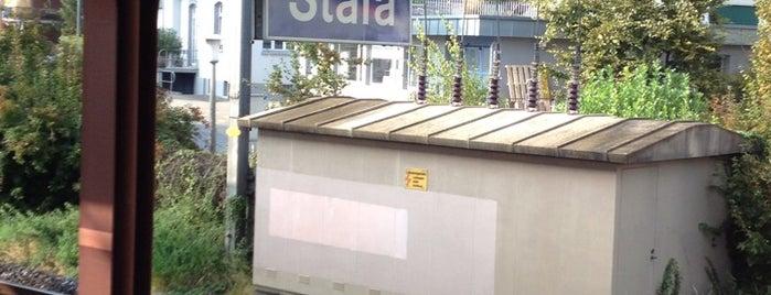 Stäfa Bahnhof is one of schon gemacht 2.