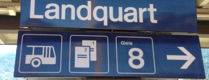 Bahnhof Landquart is one of schon gemacht 2.