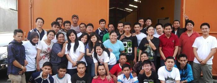 PT. Pixel Perdana Jaya HQ is one of Orte, die Jimmy gefallen.