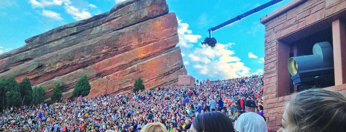 Red Rocks Park & Amphitheatre is one of Drew's favorites.