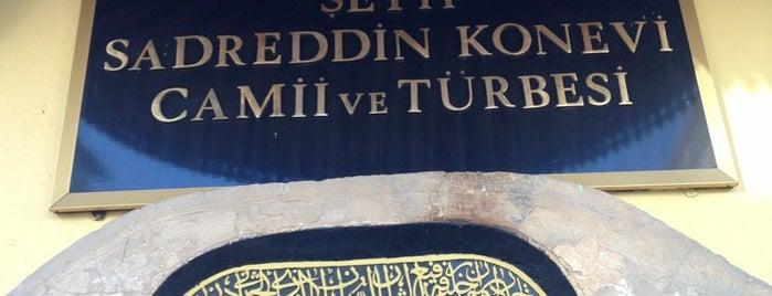 Şeyh Sadreddin Konevi Camii ve Türbesi is one of Konya.