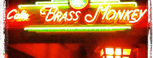 Cafe Brass Monkey is one of Bars.