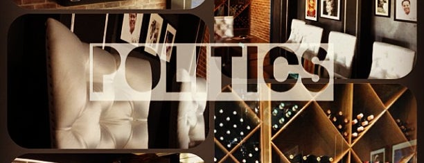 Politics [café + public house] is one of Tempat yang Disukai Angelika.