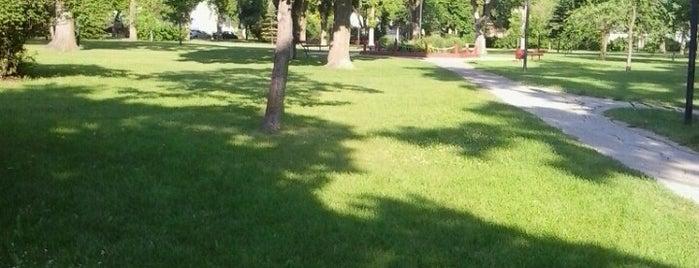 Machray Park is one of Lieux sauvegardés par Rick.