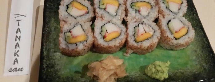 Tanaka Sushi is one of สถานที่ที่ Patricia ถูกใจ.