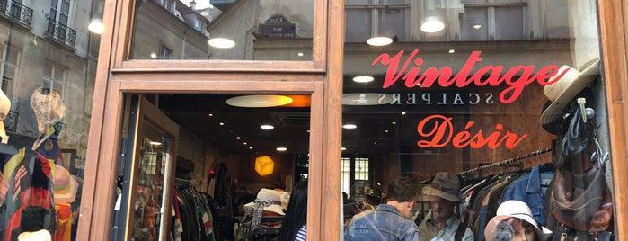 Vintage Désir is one of Paris Brocante.