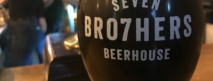 Seven Bro7hers Beerhouse is one of To-Do in Manchester 2017.