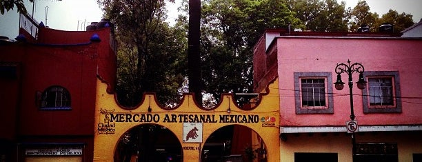 Coyoacán is one of Lugares favoritos de María.