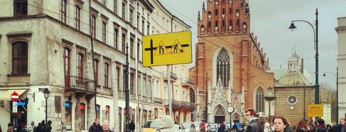 Plac Wszystkich Świętych is one of Krakiw.