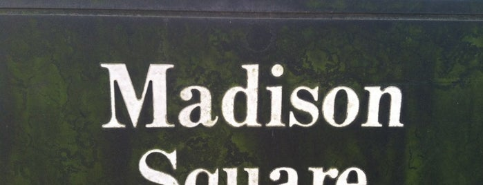 Madison Square is one of Gespeicherte Orte von Jake.