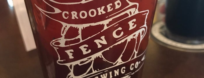 Crooked Fence Brewing Taproom is one of Tempat yang Disimpan Paul.