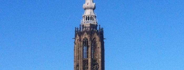 Onze-Lieve-Vrouwetoren is one of Amersfoort.