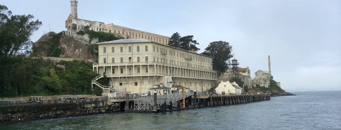 Alcatraz Island is one of USA.