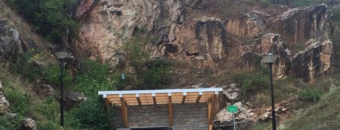 Shpella e Gadimës is one of Lieux qui ont plu à Carl.